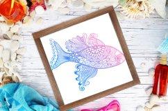 Zentangle Summer Bundle - SVG / 3D items Product Image 2