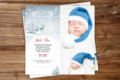 Winter Mini Session Template, Digital Photography Marketing Product Image 2