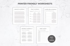 Workbook Template for Canva   eBook   Lead Magnet   Linen Product Image 4