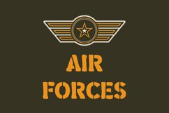 Military Stencil Font Product Image 2