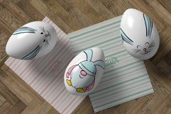 Hand drawn Easter design elements png set Product Image 5