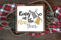Ring in the New Year SVG Cut File - New Years SVG File Product Image 4