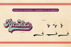 Retroholic - Retro Font Product Image 3