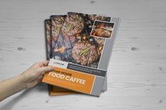 Food Menu Bifold-Trifold Brochure v2 Product Image 2