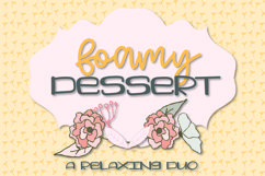 Foamy Dessert - A Southern Inspired Duo Product Image 1