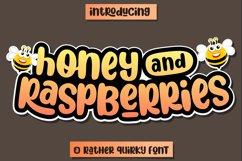 Honey and Raspberries Product Image 1