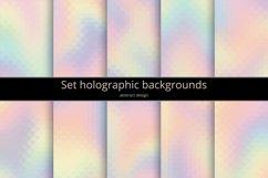 Set holographic backgrounds Product Image 1
