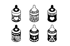 Papercut Cute Baby Feeders with Decorations Set Product Image 2