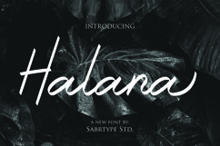 Halana Font Product Image 1