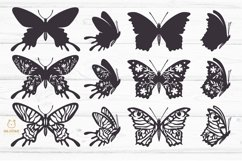 Butterflies SVG Bundle, butterfly PNG, butterflies svg Product Image 4