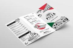 Tri-Fold Pizza Menu Template Product Image 4