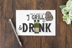 Grill and Beer SVG Product Image 2