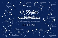12 zodiac signs constellations Product Image 1