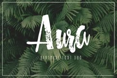 Aura handmade font duo Product Image 1