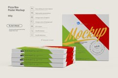 Pizza Box Poster Mockup Product Image 3
