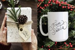 Christmas Eve. Holiday Script font. Product Image 5