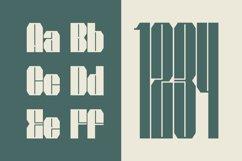 Bauhead Typeface | Font Product Image 3