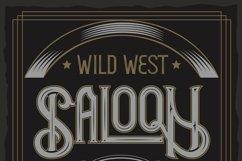 Hudson OTF vintage label font. Uppercase only! Product Image 4