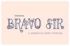Bravo Sir Font Family Product Image 1