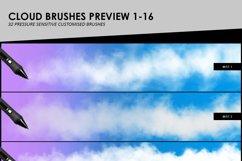 Clouds, Fog, Smoke Photoshop Brushes Product Image 4