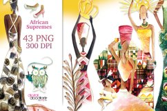 African Supremes Graphic Set Product Image 1