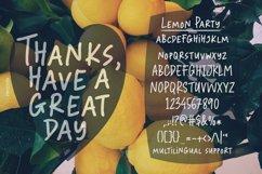 Lemon Party - A Fun Handwritten Font Product Image 5