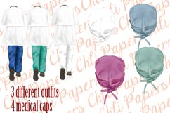 Nurses clipart,Medical clipart,Custom Nurse,Doctor clipart Product Image 4