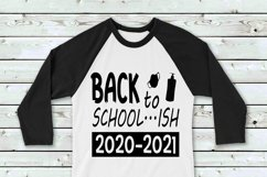 Back To School...ish SVG File Cricut & Silhouette, Cut Print Product Image 1