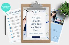 Lead Magnet / Workbook / Email Opt-In / Canva & Indd Product Image 5