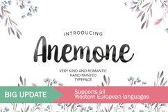Anemone Script Product Image 1