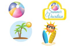 Summer Vacation Clipart Product Image 2