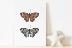 Boho butterfly print, Digital butterfly print, Birthday gift Product Image 5