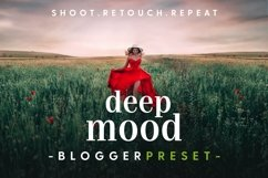 Deep Mood - Lightroom & Photoshop Camera Raw Presets Product Image 1