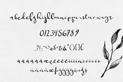 Jungfrau Slopes Modern Calligraphy Brush Script Product Image 2