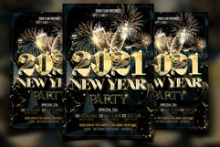 New Year Party Flyer Product Image 1
