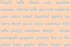 Peony   Quirky Hand Written Font Product Image 2