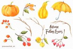 Autumn falling leaves Product Image 6