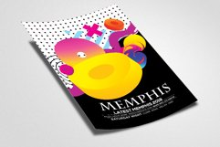 Abstract Memphis Flyer Template Product Image 2
