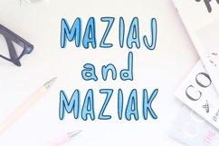 Maziaj and Maziak - 2 fonts Product Image 1