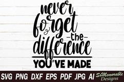 Inspirational SVG cut file, Motivational svg design Product Image 1