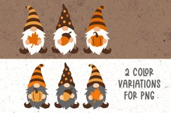 Fall gnome svg Gnomes fall svg Gnome clipart Fall clipart Product Image 2