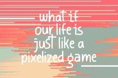 Web Font Haxxel - Pixel Fonts Product Image 2
