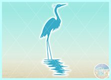 Birds In Water Silhouette Bundle Svg Dxf Eps Png PDF Product Image 3
