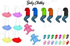 Best Friends Mother's Day Clipart Mom and Child Baby PNG Product Image 5