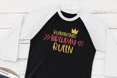 Quarantined Birthday Queen / Funny SVG Product Image 2