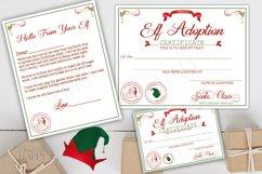 Printable Elf Adoption Certificate, Elf Letter, Elf Kit Product Image 1