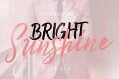 Bright Sunshine Font Duo Product Image 1