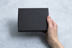 Mockups bundle box, with hand, note. PSD Product Image 7