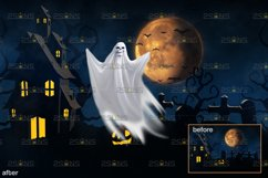 39 Halloween overlay & Ghost Clipart Photoshop overlay Product Image 2