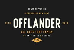 Offlander - Font Family Product Image 1